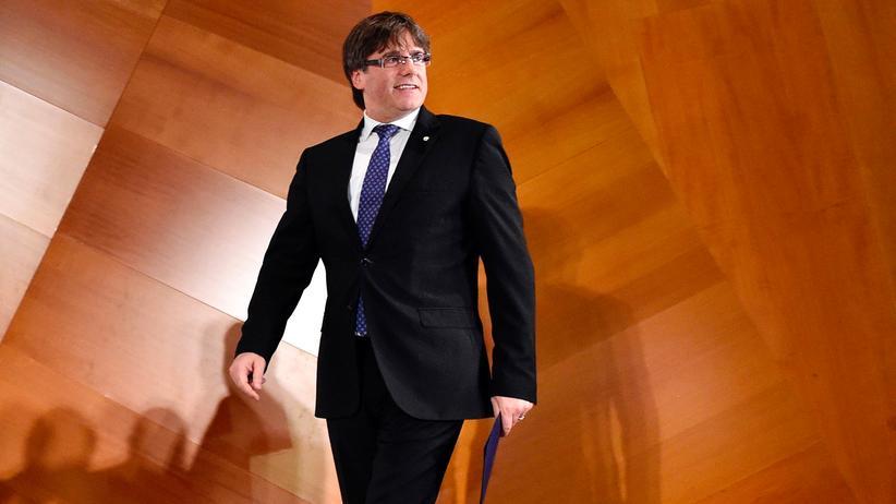 Katalonien: Puigdemont wurde wegen Rebellion und Veruntreuung gesucht