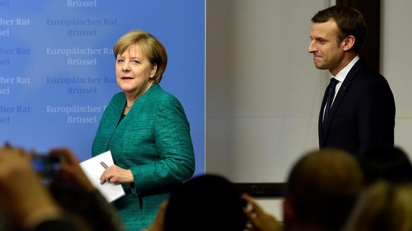 Eurozone: Merkel und Macron vertagen gemeinsame Pläne für EU-Reform