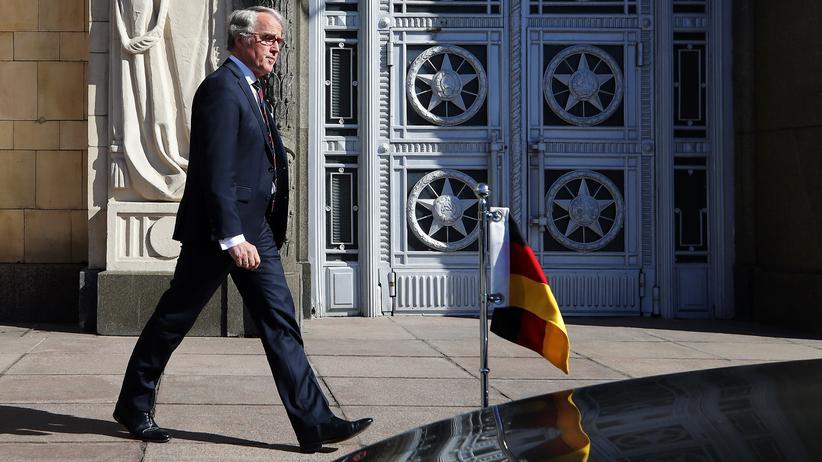 Ausweisung von Diplomaten: Russland weist vier Angehörige der deutschen Botschaft aus