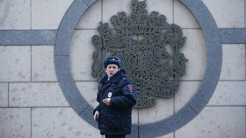 Sergej Skripal: Russland streicht britischer Botschaft 50 Stellen