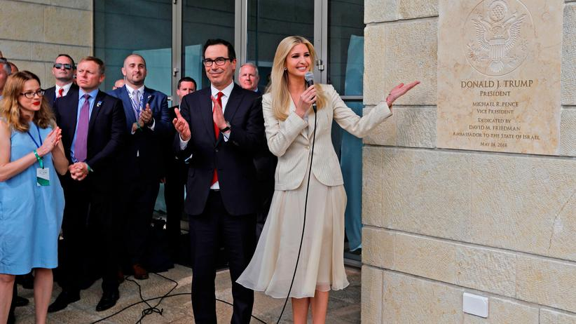 Jerusalem: Neue US-Botschaft in Israel ist eröffnet