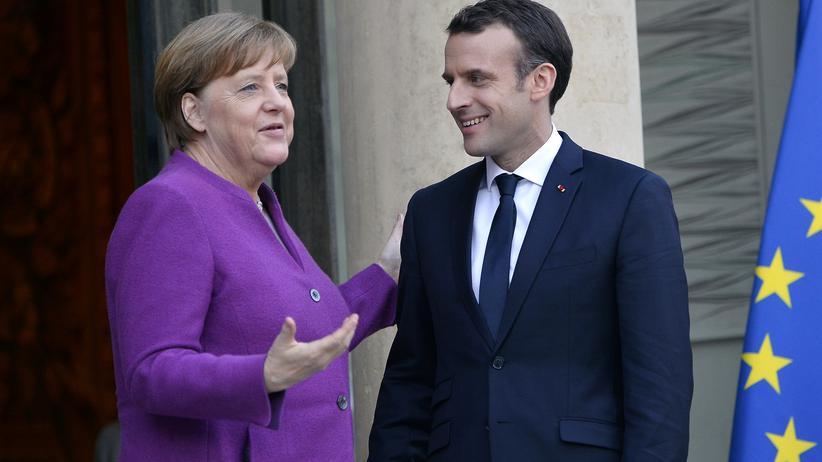 EU-Reform: Bundeskanzlerin Angela Merkel und der französische Präsident Emmanuel Macron