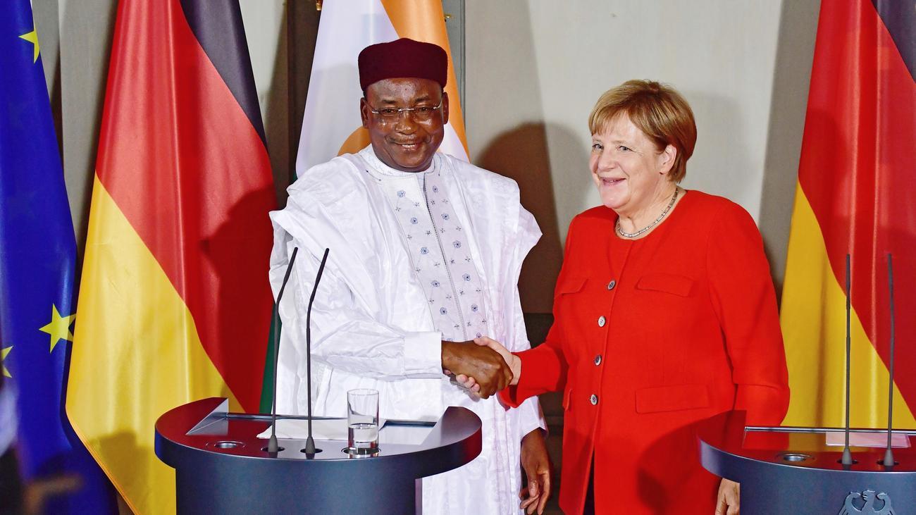 Sahelregion: Angela Merkel will Niger stärker unterstützen
