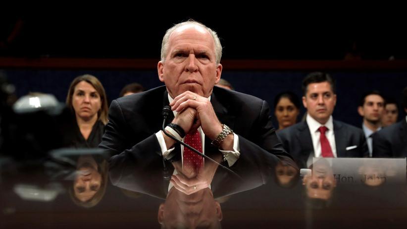 John Brennan: Trump entzieht Ex-CIA-Chef Sicherheitsfreigabe