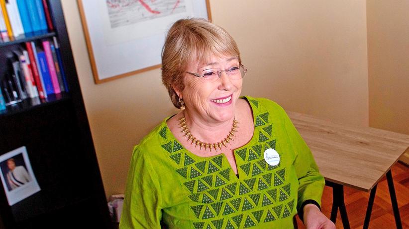 Vereinte Nationen: Michelle Bachelet