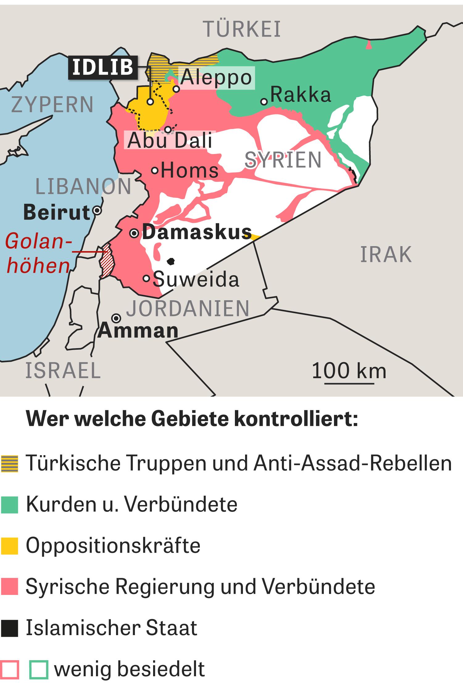 Syrien Karte Mit Städten.Syrien Frieden Im Fadenkreuz Zeit Online