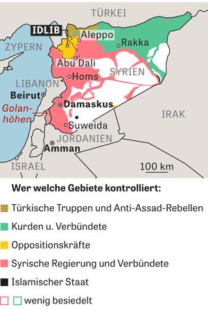Syrien Karte Aktuell 2018.Syrien Frieden Im Fadenkreuz Zeit Online
