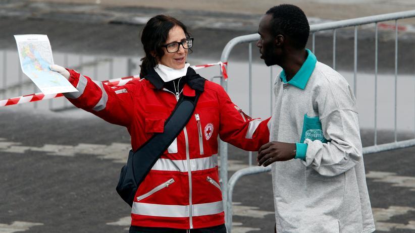 """Marie De Somer: """"Mit Geld allein kann man das Flüchtlingsproblem nicht lösen"""""""