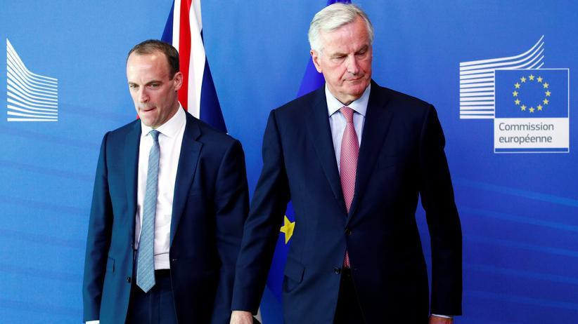 Brexit: EU und Großbritannien setzen Verhandlungen aus