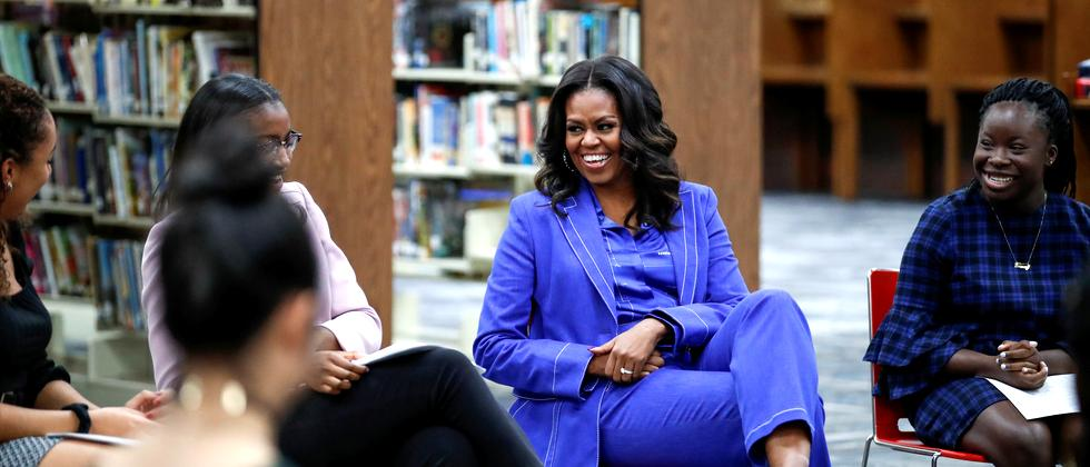 """Becoming"" : Amerikas Sehnsucht nach Michelle Obama"