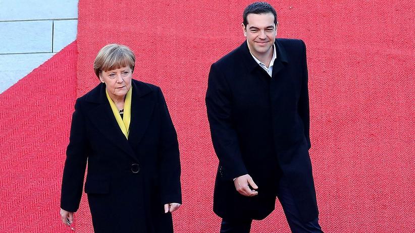 Angela Merkel in Athen : Wie aus der Widersacherin eine Verbündete wurde