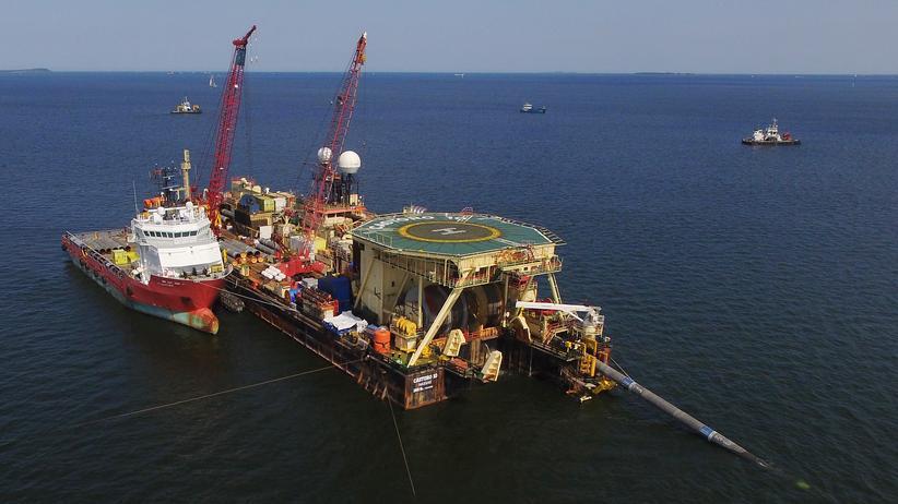 Nord Stream 2: Bauarbeiten zu Nord Stream 2
