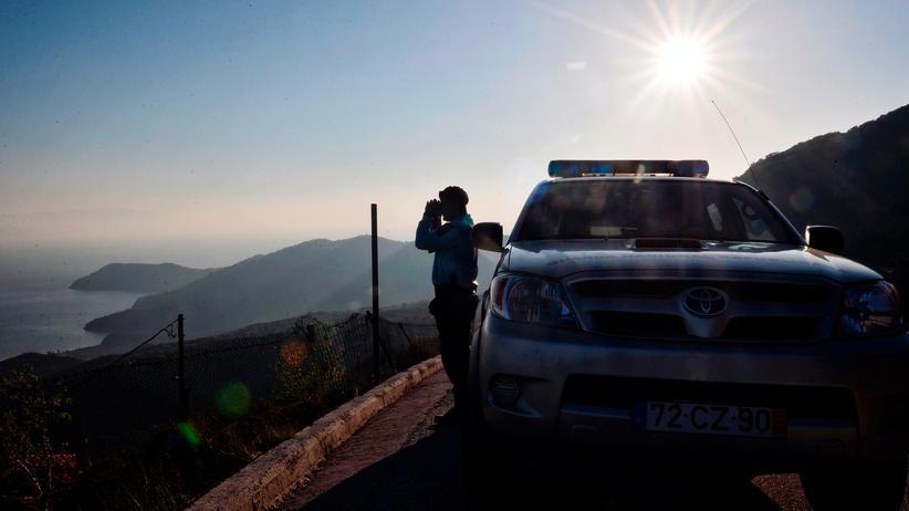 EU-Außengrenzen: Ein Frontex-Polizist in Griechenland