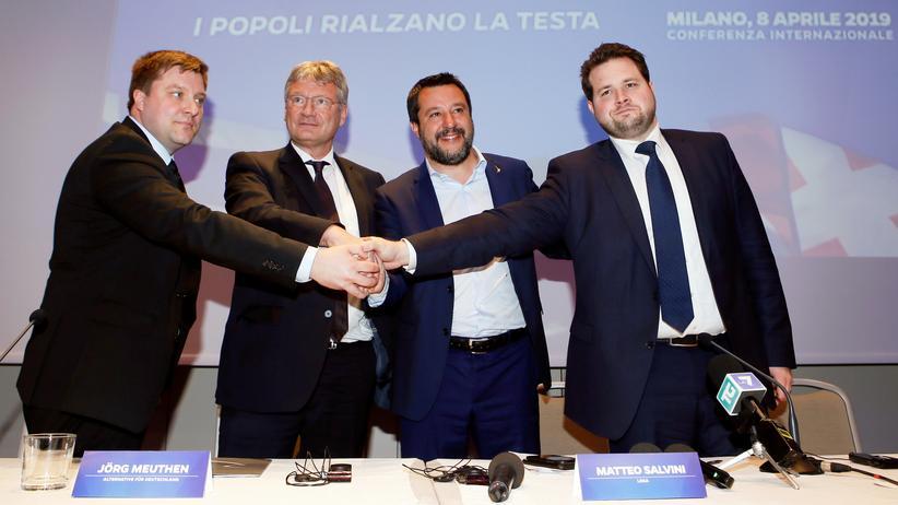 Europawahl: Treffen sich vier Nationalisten