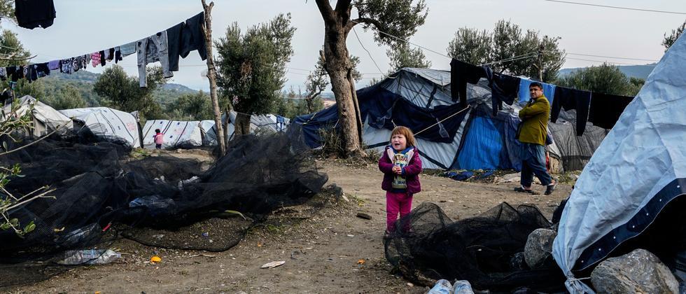 Migration: Griechische Flüchtlingslager überfüllt