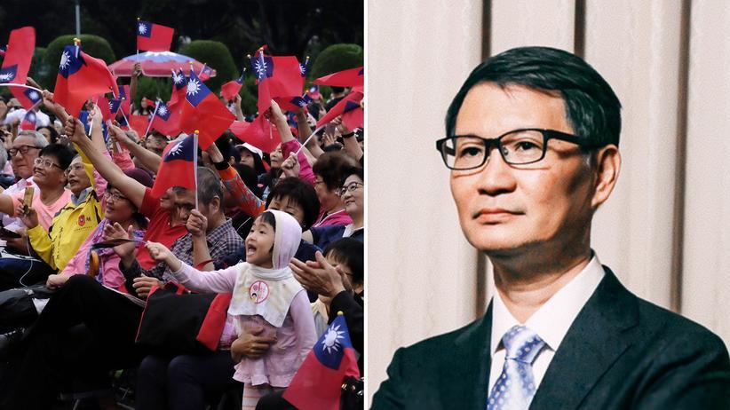 Verfassung: Feierlichkeiten zum Nationalfeiertag in Taipeh/Chien-Liang Lee ist einer der bekanntesten Juraprofessoren und in Deutschland ausgebildet.