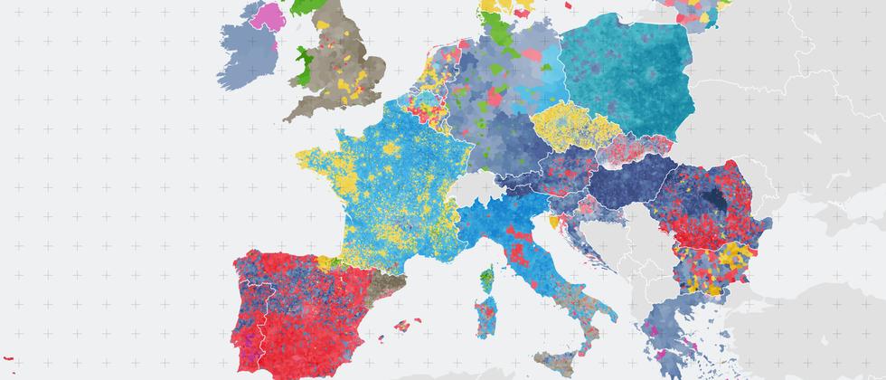 Europawahl 2019: Die neuen Farben Europas