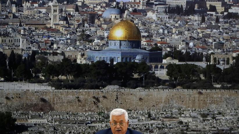 Ostjerusalem: Mahmud Abbas will Friedensverträge mit Israel kündigen