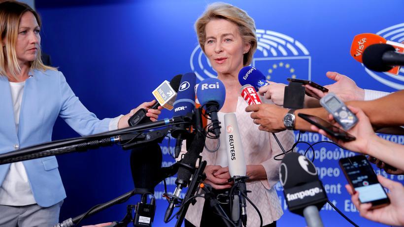Ursula von der Leyen: Die neue Präsidentin der EU-Kommission: Ursula von der Leyen
