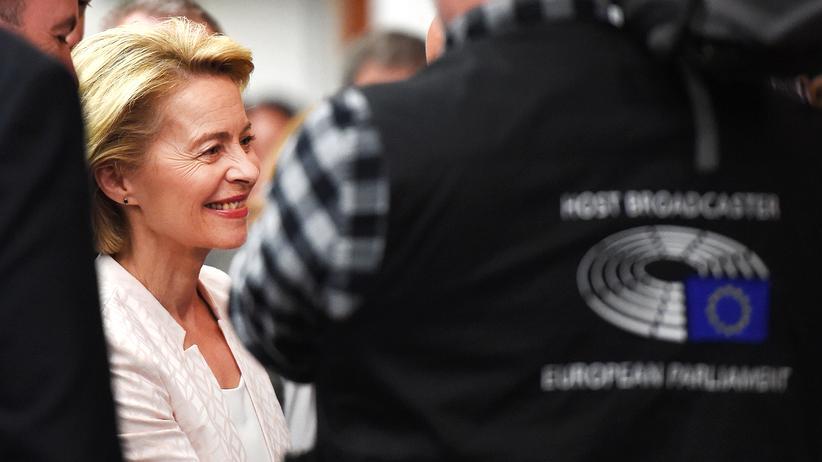 EU-Parlament: Ursula von der Leyen wirbt mit Klimaschutzkonzept um Zustimmung