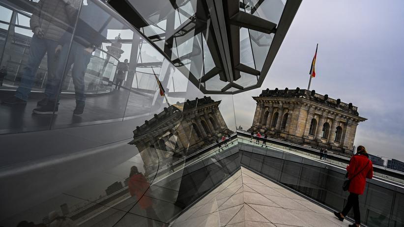 Abgeordnetenbestechung: Das Reichstagsgebäude in Berlin