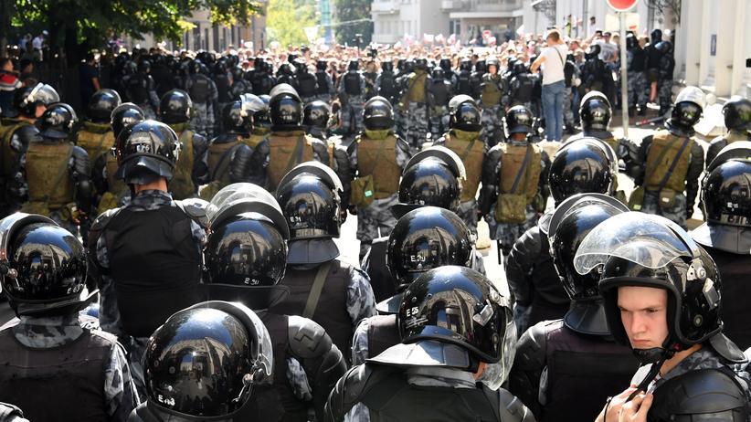 Russische Behörde setzt Google wegen Protestvideos unter Druck