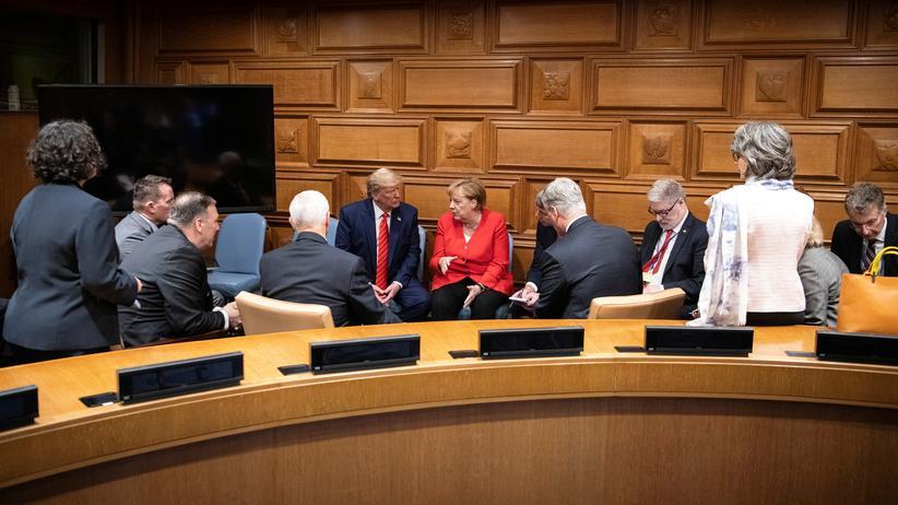 Iran: Merkel lehnt Irans Forderung nach Ende der Sanktionen ab