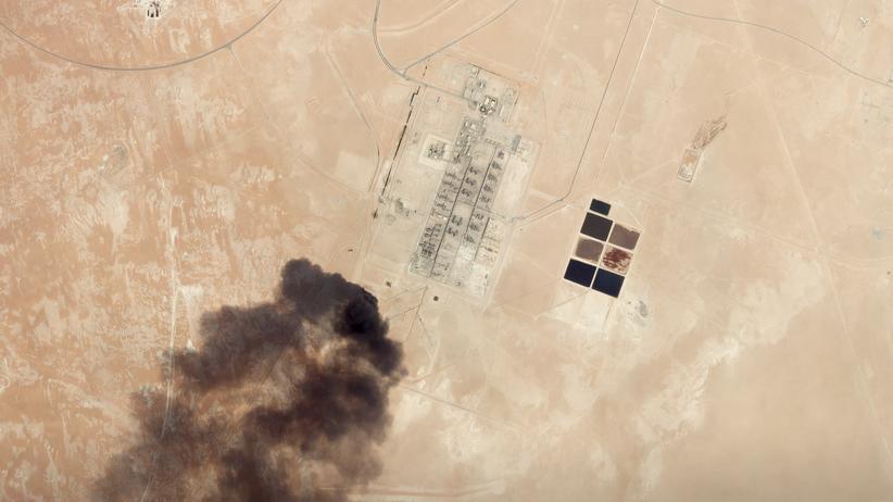 Rüstungsindustrie: Am 14. September hat es Drohnenanschläge auf Erdölförderanlagen im Osten von Saudi-Arabien gegeben.