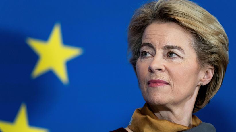 EU-Kommissare: Die Kommissionspräsidentin Ursula von der Leyen