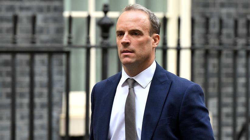 Iran: Der britische Außenminister Dominic Raab in London