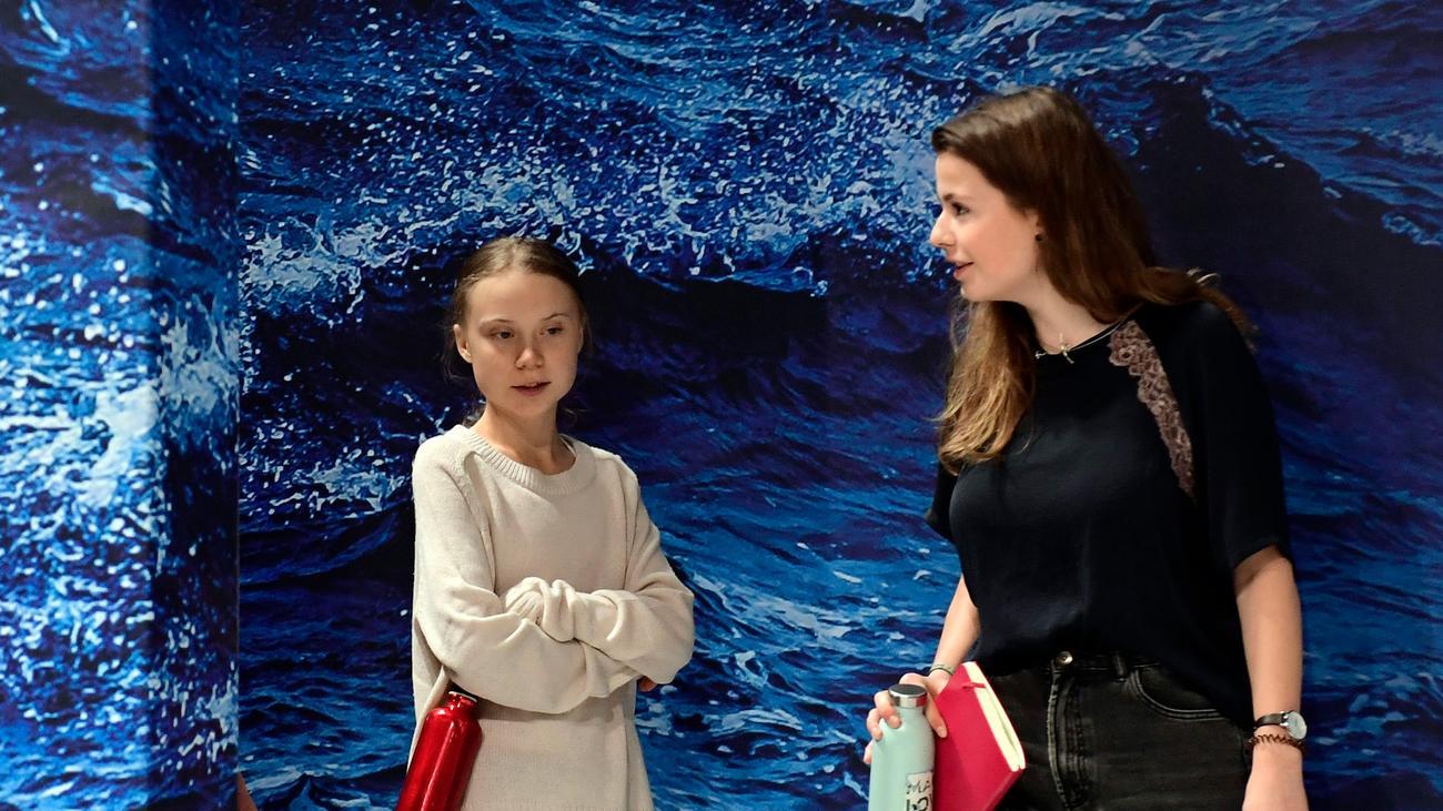 Angela Merkel trifft Greta Thunberg und Luisa Neubauer
