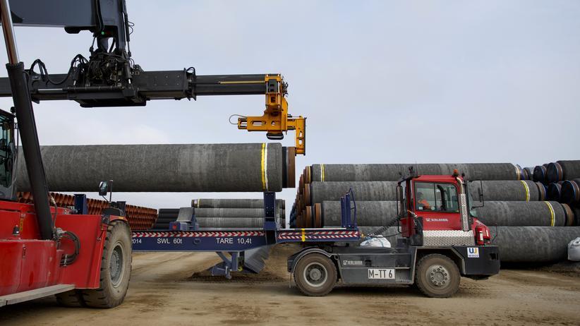 Sassnitz Nord Stream 2