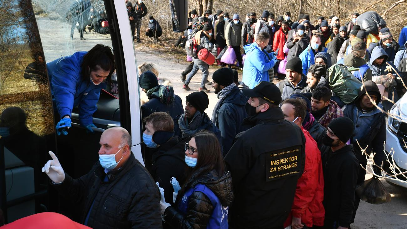 Flüchtlinge Bosnien