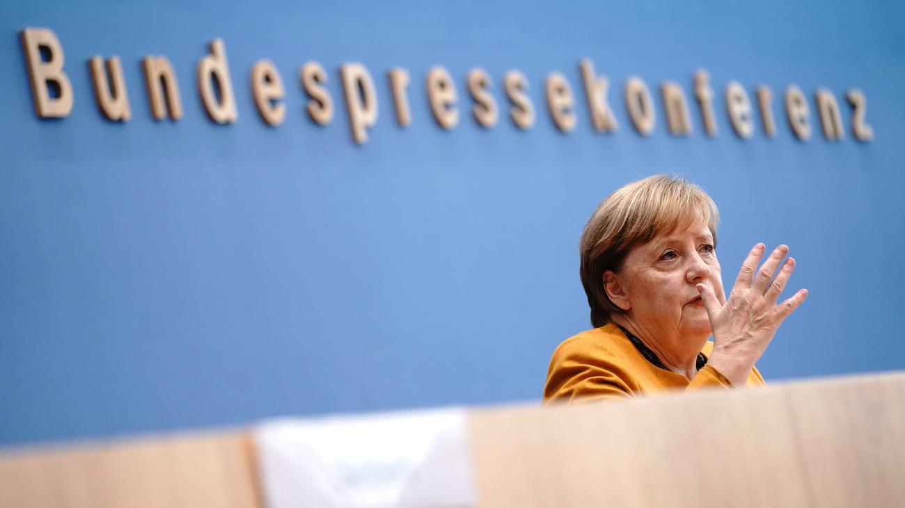 Merkel Corona Live