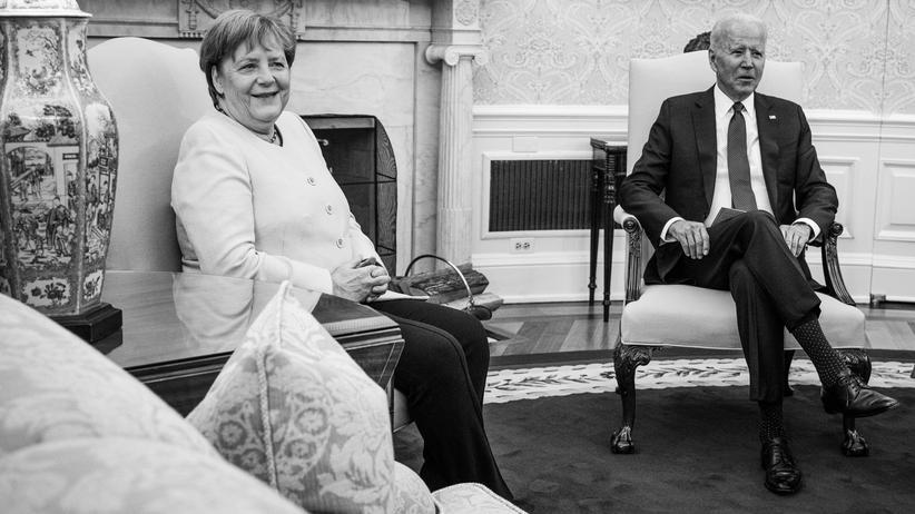 Washington: Angela Merkels Farewell im Weißen Haus