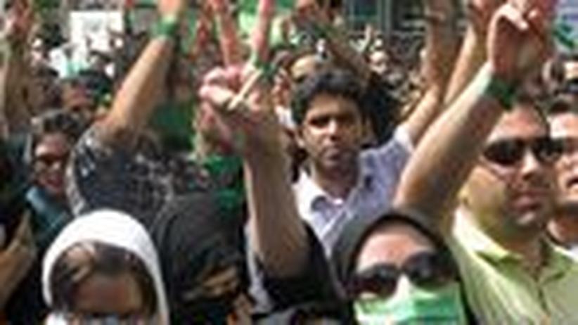 Iran: Das Grün, das nicht verblasst