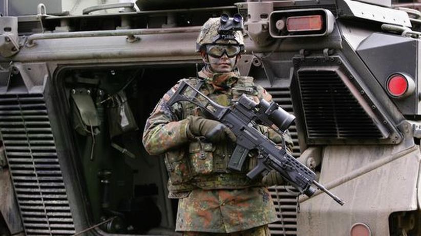 Bundeswehr Soldat Afghanistan Ausrüstung