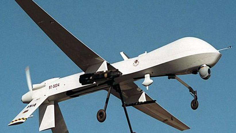 Eine ferngesteuerte Drohne der US-Air Force des Typs MQ-1 Predator