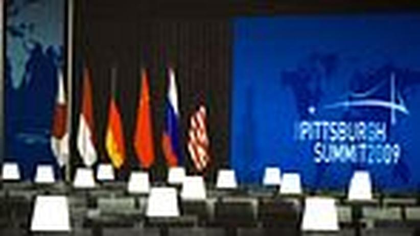 G-20-Gipfel: Sand ins Getriebe der Geldmaschine