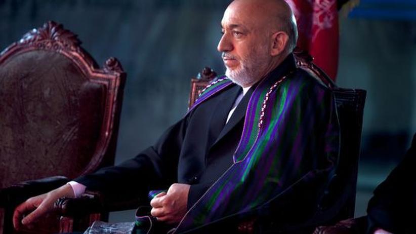 Afghanistan: Wahlsieger Hamid Karsai: Der bisherige afghanische Präsident scheint auch der neue zu sein