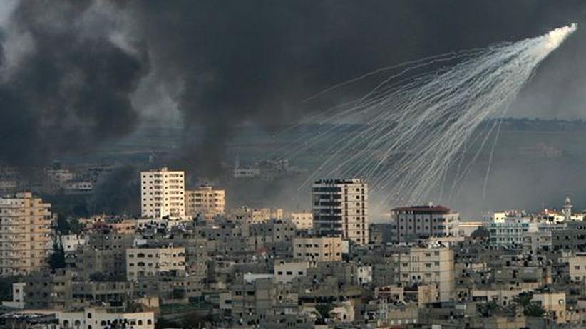 Beschuss des Gazastreifens