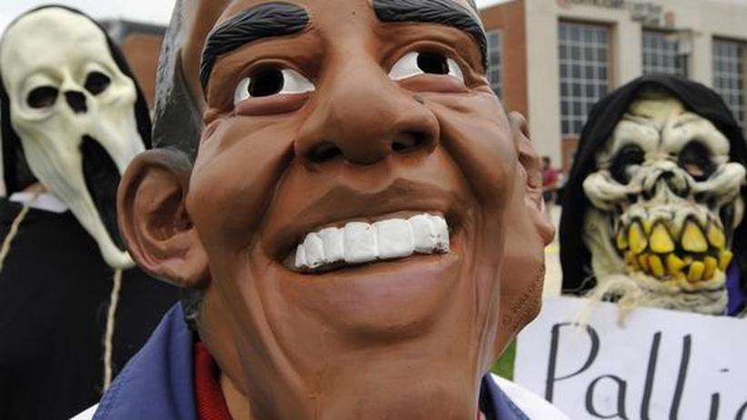 USA:  Protest gegen die Gesundheitsreform – und Obama