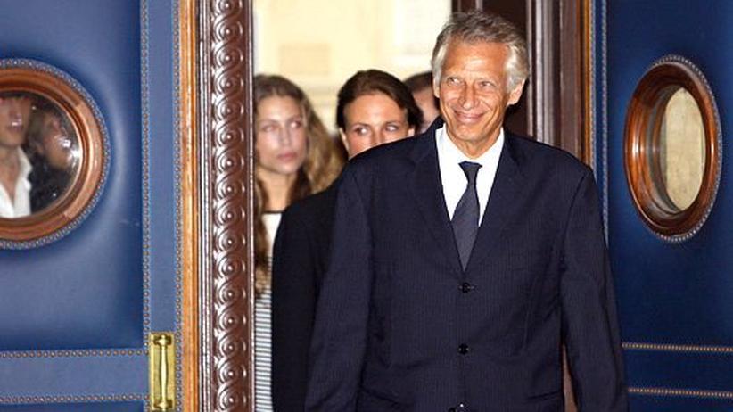 Clearstream-Prozess: Angeklagter Ex-Premier Villepin greift Sarkozy an