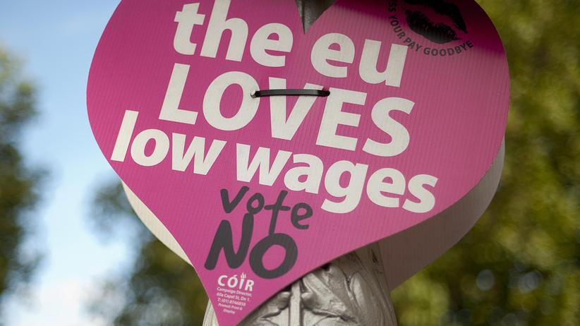 Referendum in Irland: Koalition der Quertreiber gegen Lissabon