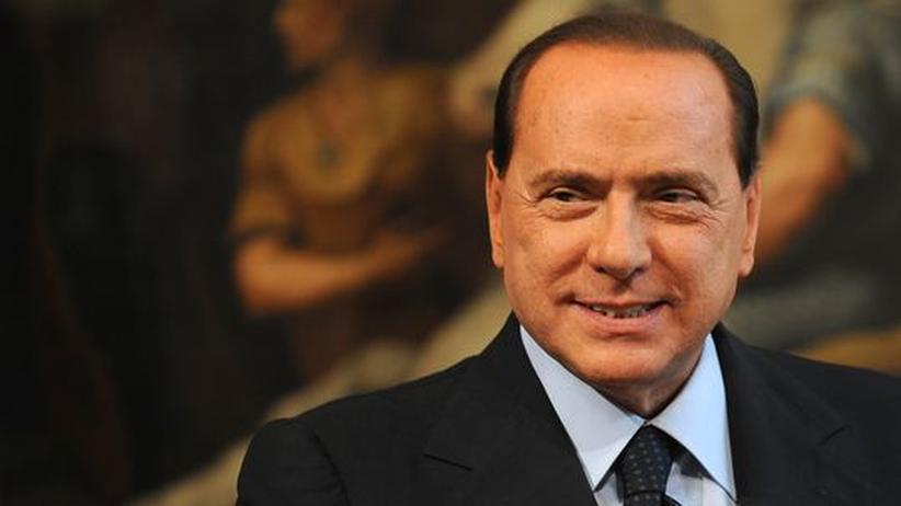 Silvio Berlusconi is not amused