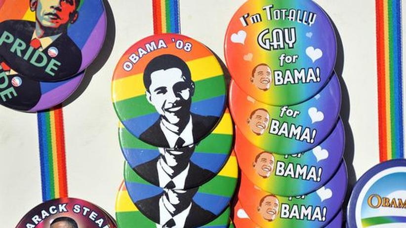 USA: Barack Obama verspricht Homosexuellen mehr Rechte