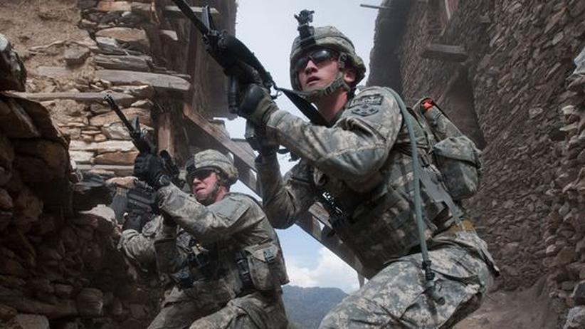 Afghanistan: US-Soldaten in Afghanistan: Für sie ist es Krieg, der Einsatz Deutschlands gilt offiziell nur als Kampfeinsatz.