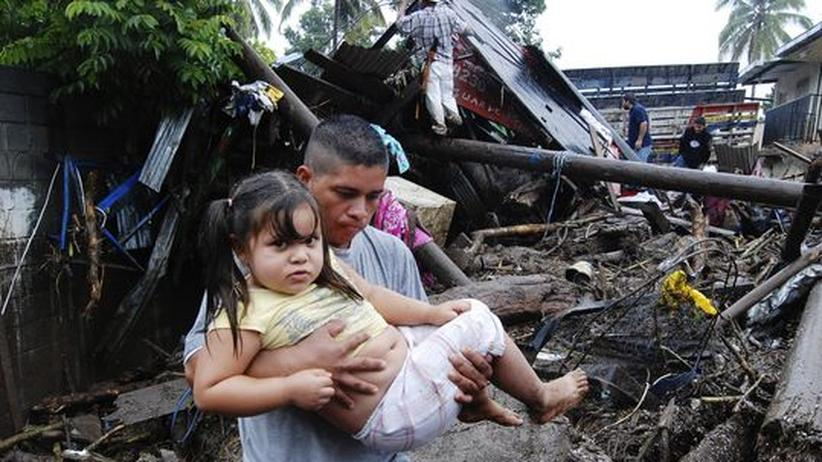 Unwetter: Viele Tote nach Hurrikan in El Salvador