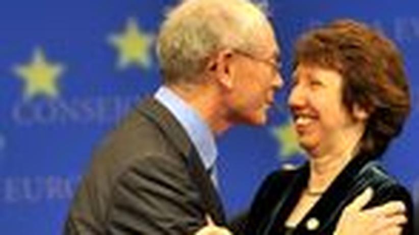 Neue EU-Spitzen: Herman wer? Catherine wie?