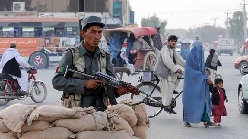 Innere Sicherheit: Afghanistan will die Zahl seiner Sicherheitskräfte verdoppeln